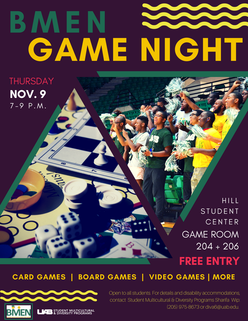 BMEN offers post-midterm R&R at Fall 2017 Game Night