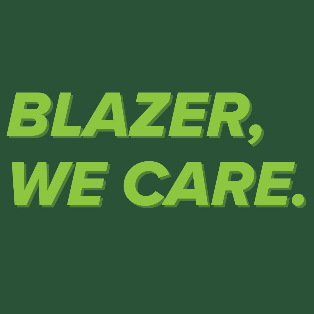 BlazerWeCare square green