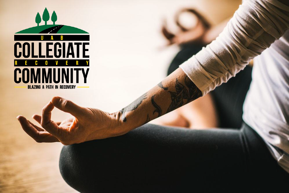 The Collegiate Recovery Community offers finals week meditation to students