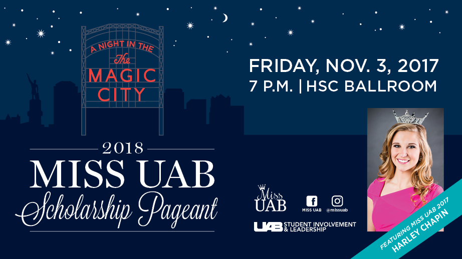 'A Night in the Magic City' will usher in the next Miss UAB