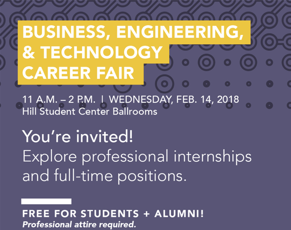 BET Career Fair encourages students to find their match on Valentine's Day