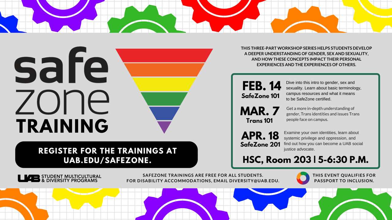 UAB   Student Affairs   News   SafeZone is back this spring 2018