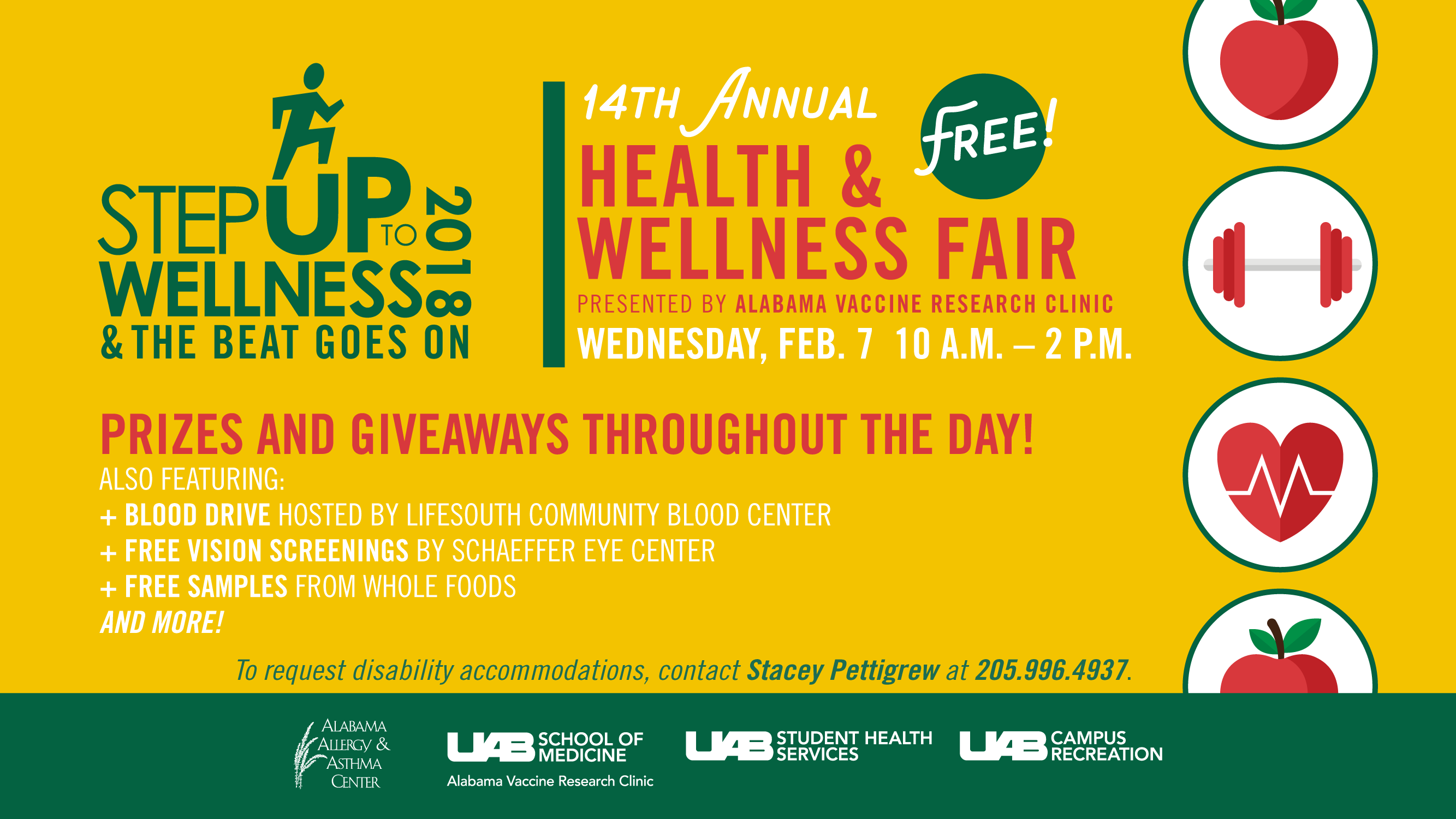 14th Annual Step Up to Wellness Health and Wellness Fair
