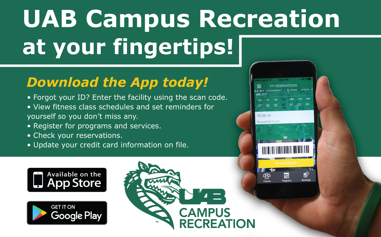 UAB - Student Affairs - News - Campus Recreation debuts new