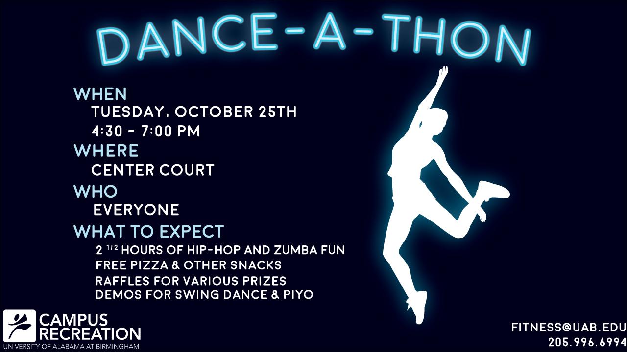 Dance a thon prizes