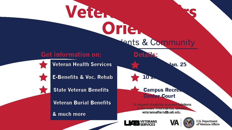 VA Orientation for Birmingham Area Veterans