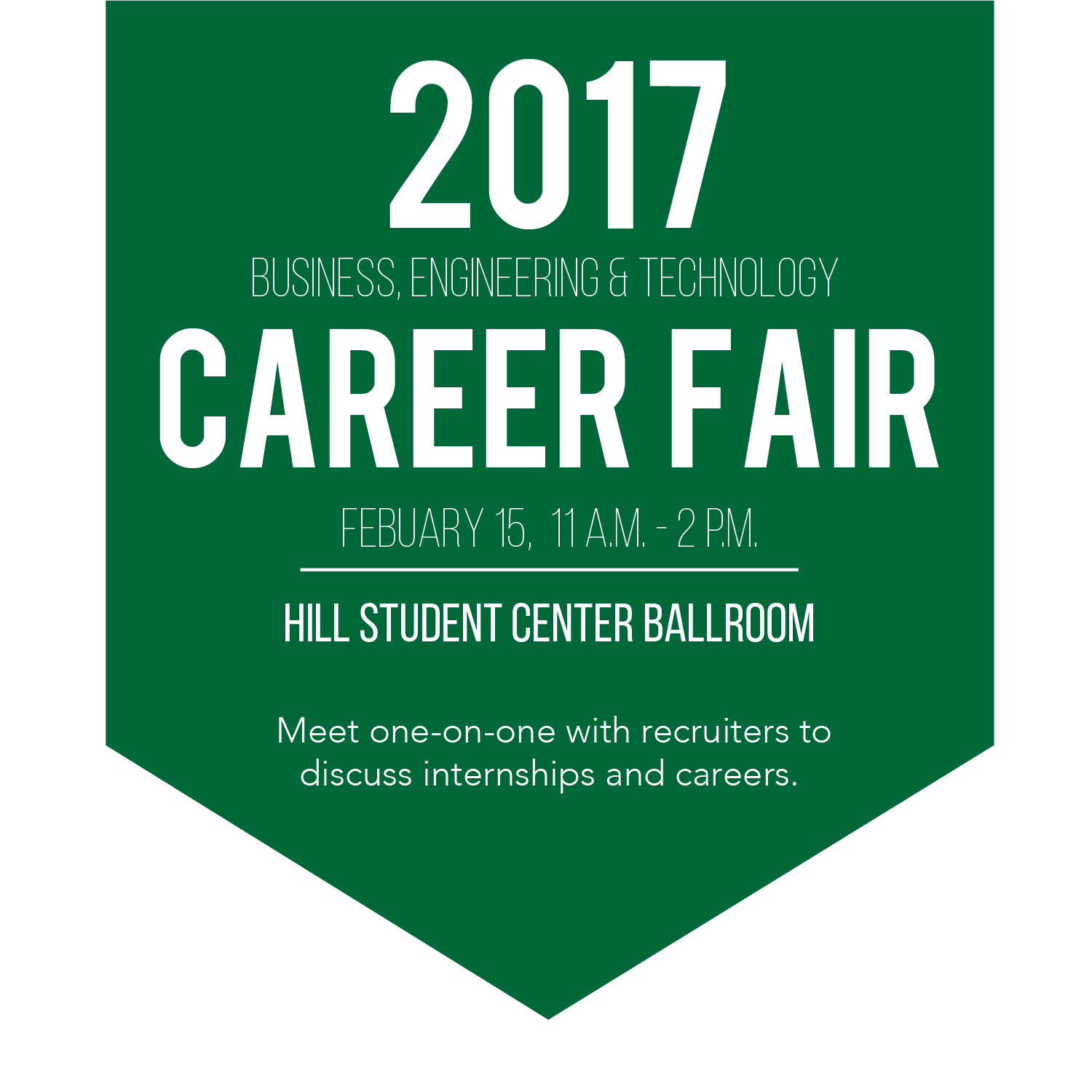 Business, Engineering and Technology Career Fair this Wednesday