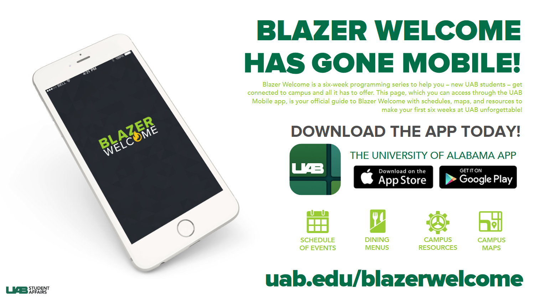 Blazer Welcome