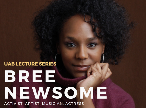 Spring 2018 Lecture Series kicks off with activist Bree Newsome