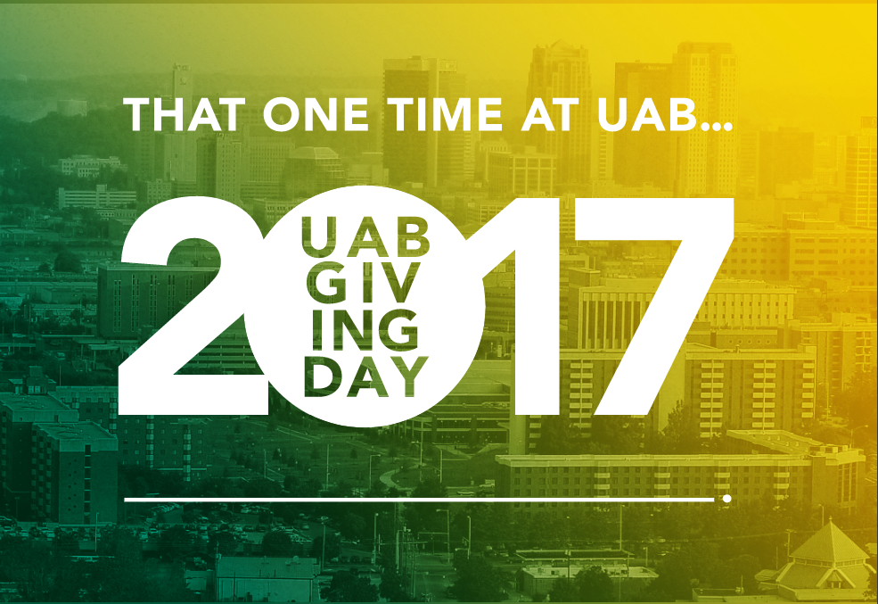 UAB Giving Day is May 11