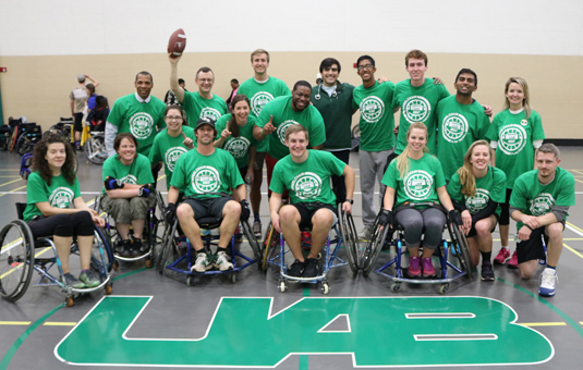 Wheelchair Flag Football a win for awareness