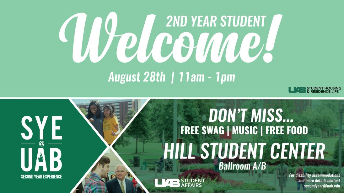 UAB Second Year Student Experience