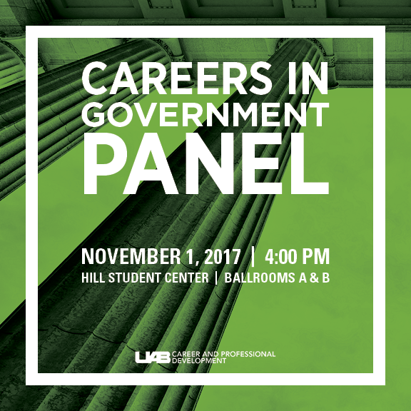 Looking forward to a Career in Government?