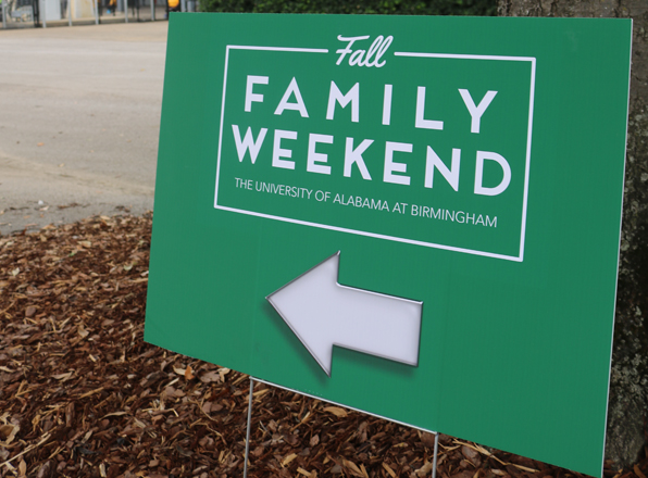 Student Affairs welcomed hundreds of families for special weekend