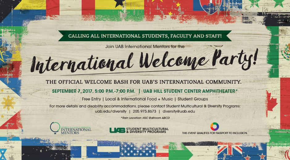 International Welcome Party