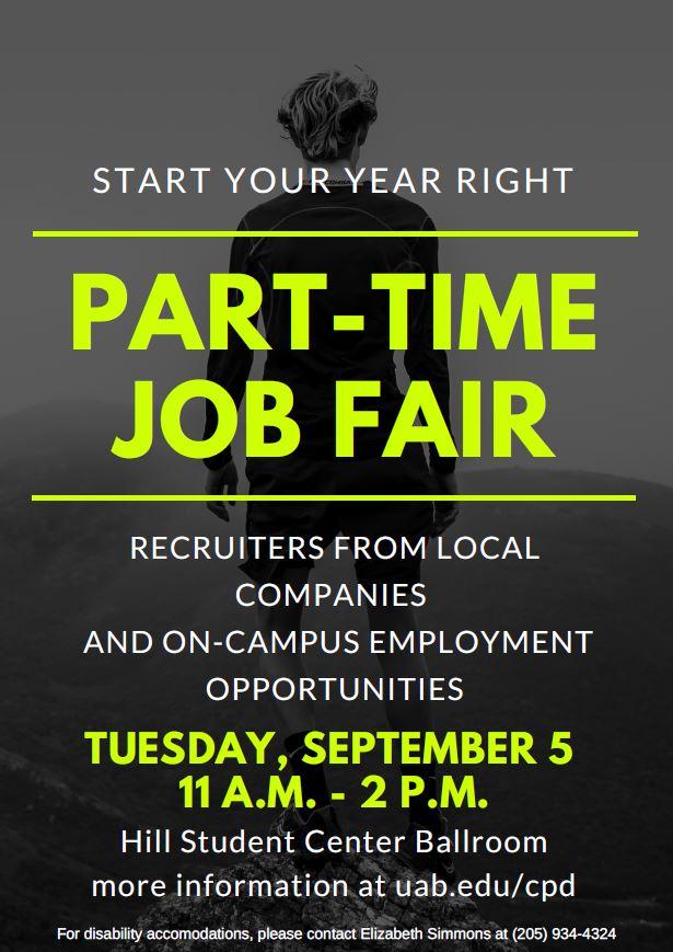 part time job fair