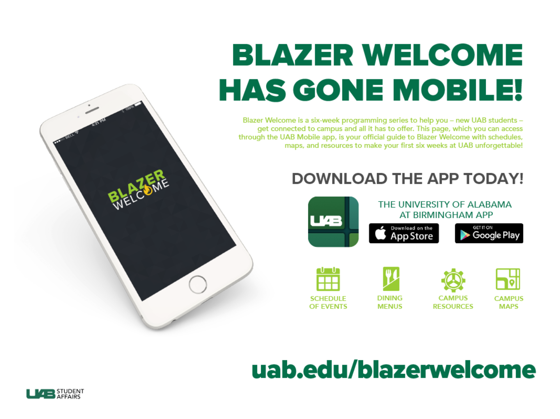Blazer Welcome