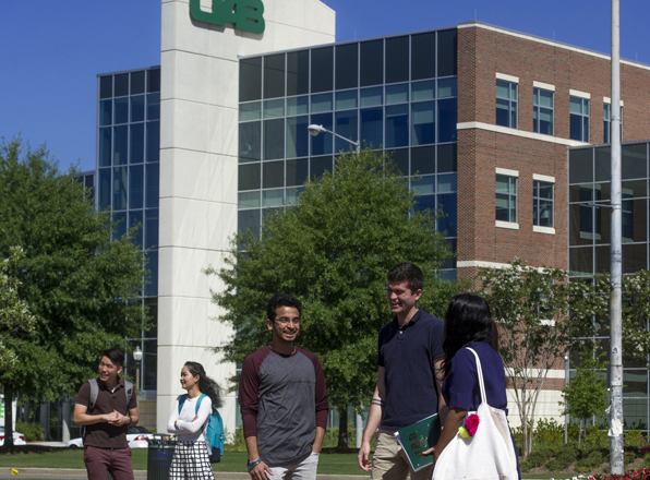 UAB students happy to be back on campus