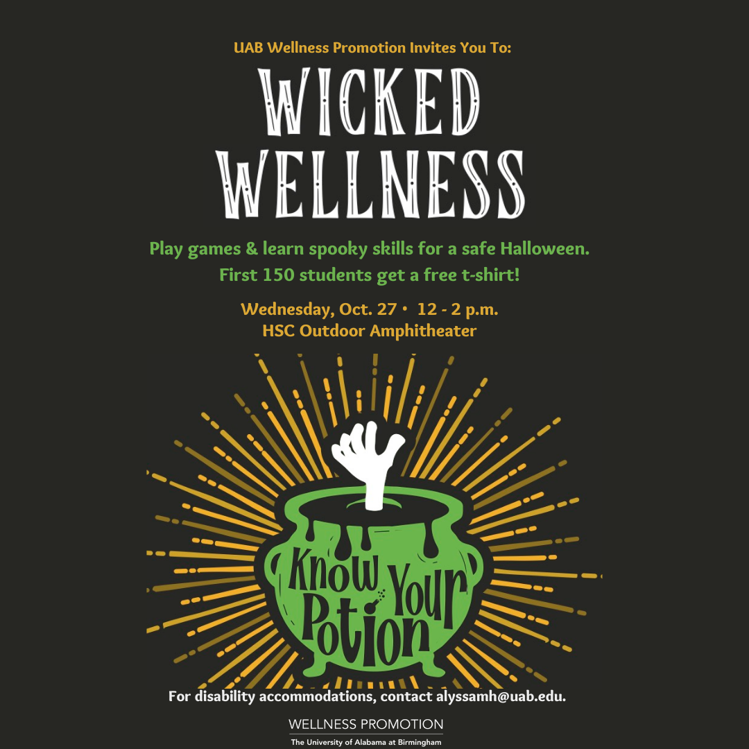 Wellness Promotion Wicked Wellness event