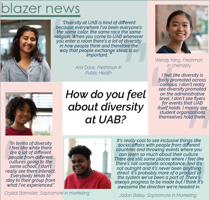 How Do You Feel About Diversity at UAB
