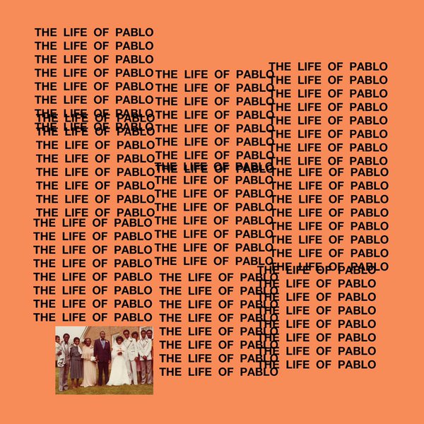 "The cover for Kanye's new album ""The Life of Pablo."""