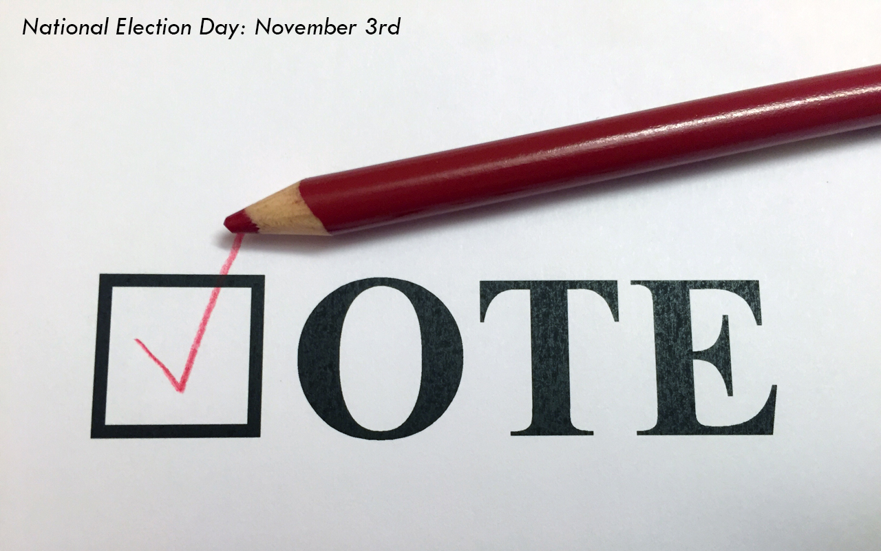"National Election Day ""Vote"""