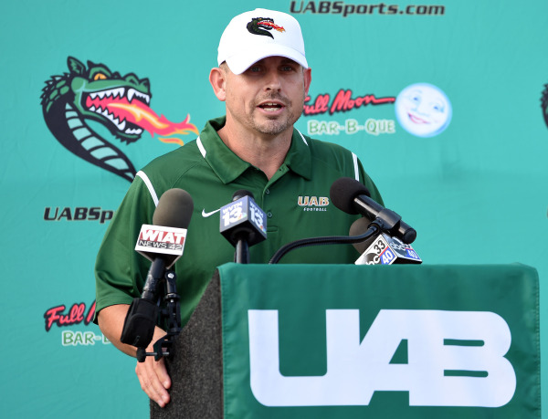 UAB Head Football Coach Bill Clark (Photo from UABsports.com).