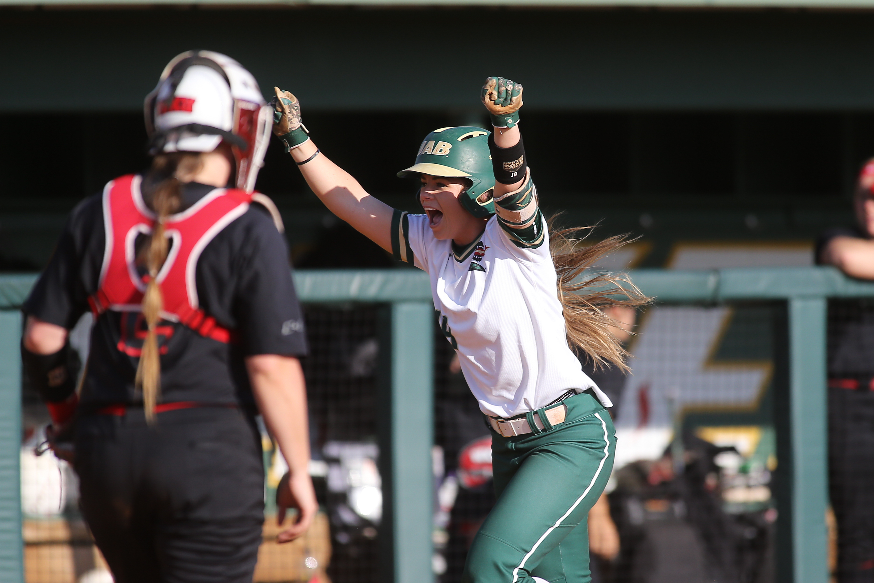 Lady Blazers take home series victories in dramatic fashion