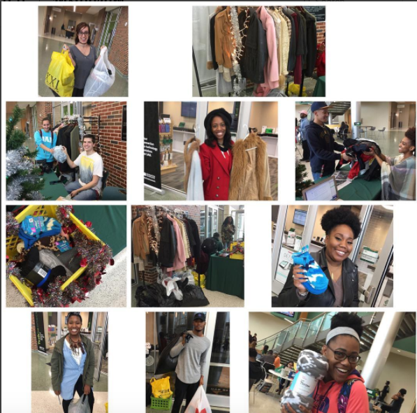 Student Media Coat & Sock Drive Success