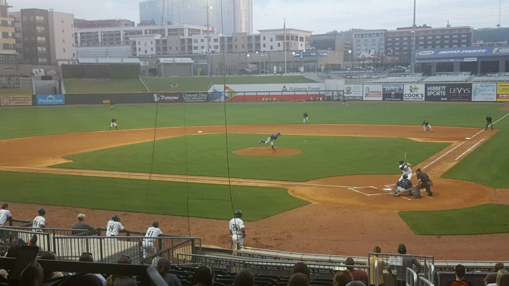 The Samford Bulldogs defeated UAB 5-1 at Regions Field. Photo by Trinity Dix/Sports Reporter