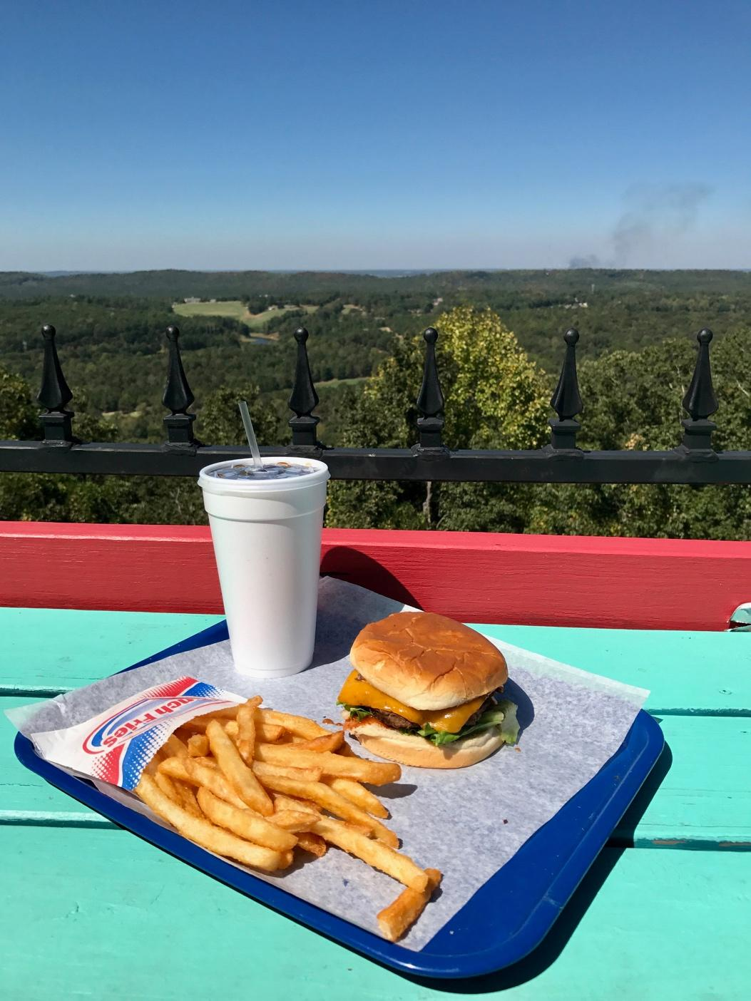 The view provided at Tip Top Grill inspires both the name and returning customers. Photo by Gavin Gilliland