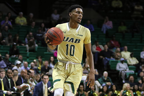 Freshman guard Javien Williams. Photo from UABsports.com