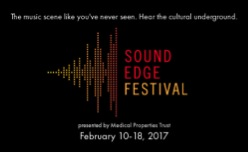 The promotional flyer for the inaugural Sound Edge Festival.