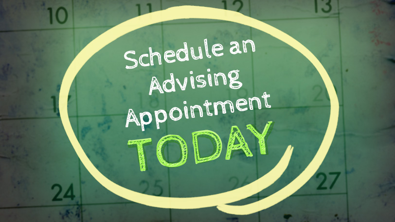 Schedule an advising appointment today.