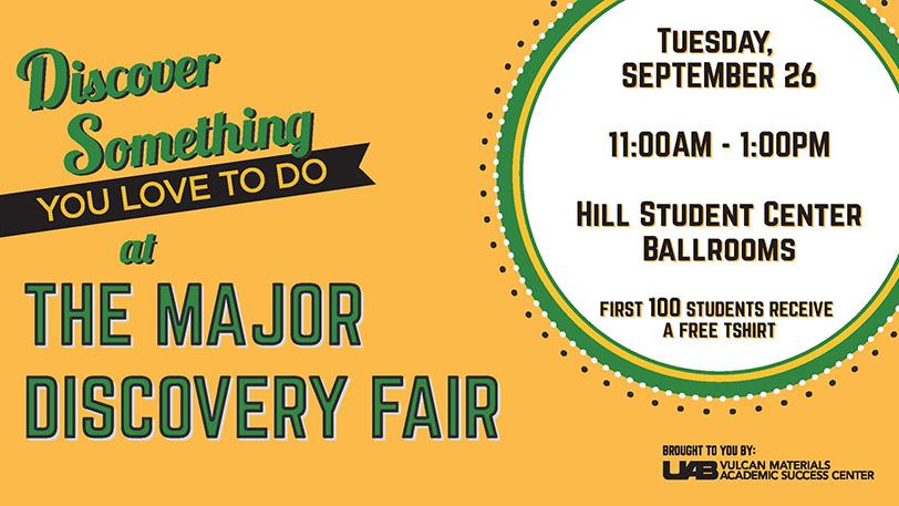 Major Discovery Fair