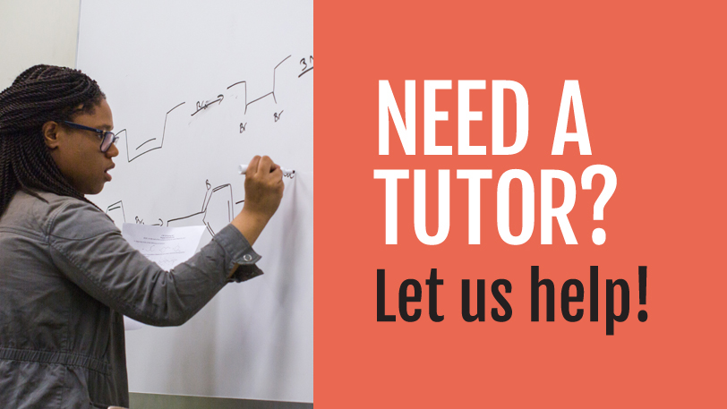 Need a tutor? Let us help!