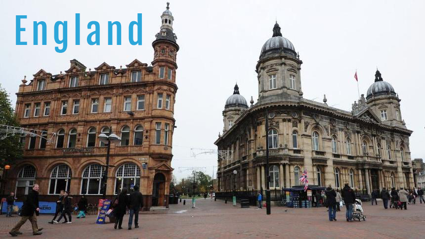 Hull England City Center