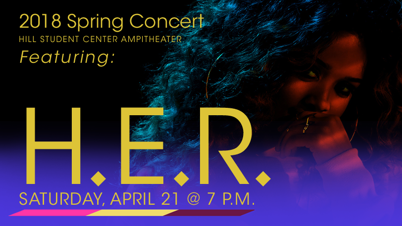 2018 Spring Concert featuring H.E.R
