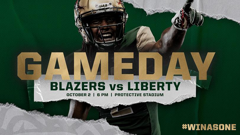 UAB Football Gameday: Blazers vs Liberty - October 2, 6:00pm, Protective Stadium