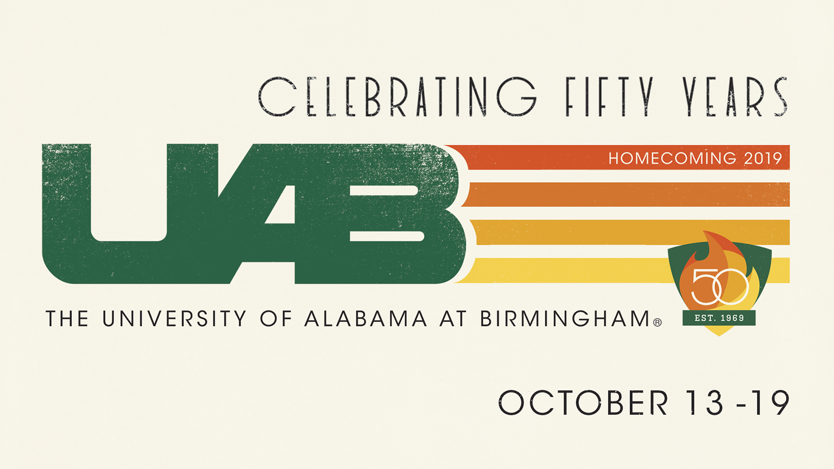 Celebrating Fifty Years: UAB Homecoming 2019