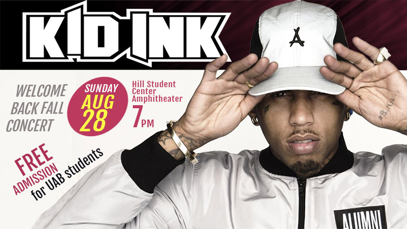 Welcome Back Fall Concert featuring Kid Ink
