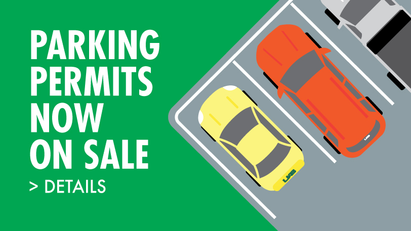 Parking Permits Now On Sale