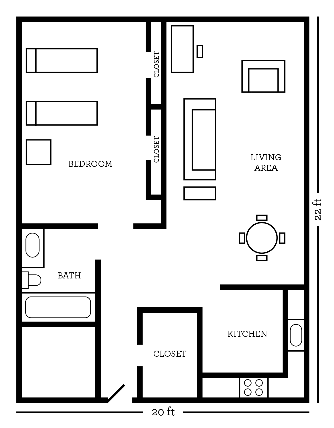 Building Floor Plans also House Floor Plans furthermore Floor Plans additionally Princess Carriage Bed moreover Craftsman Cottage House Plan. on bedroom floor plans dimensions