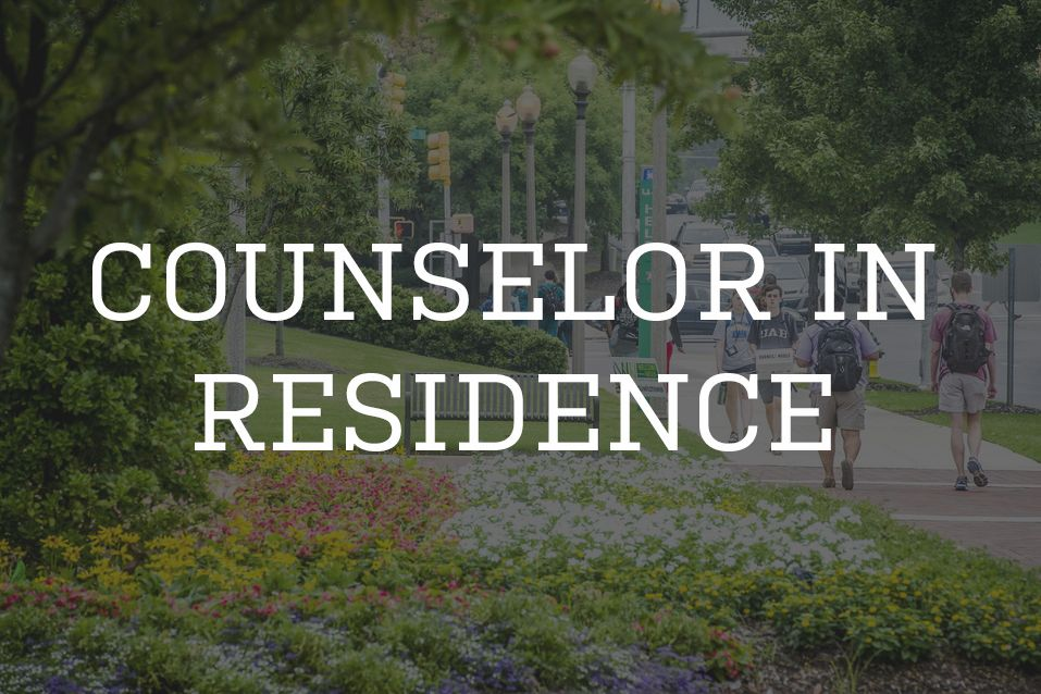 Counselor In Residence