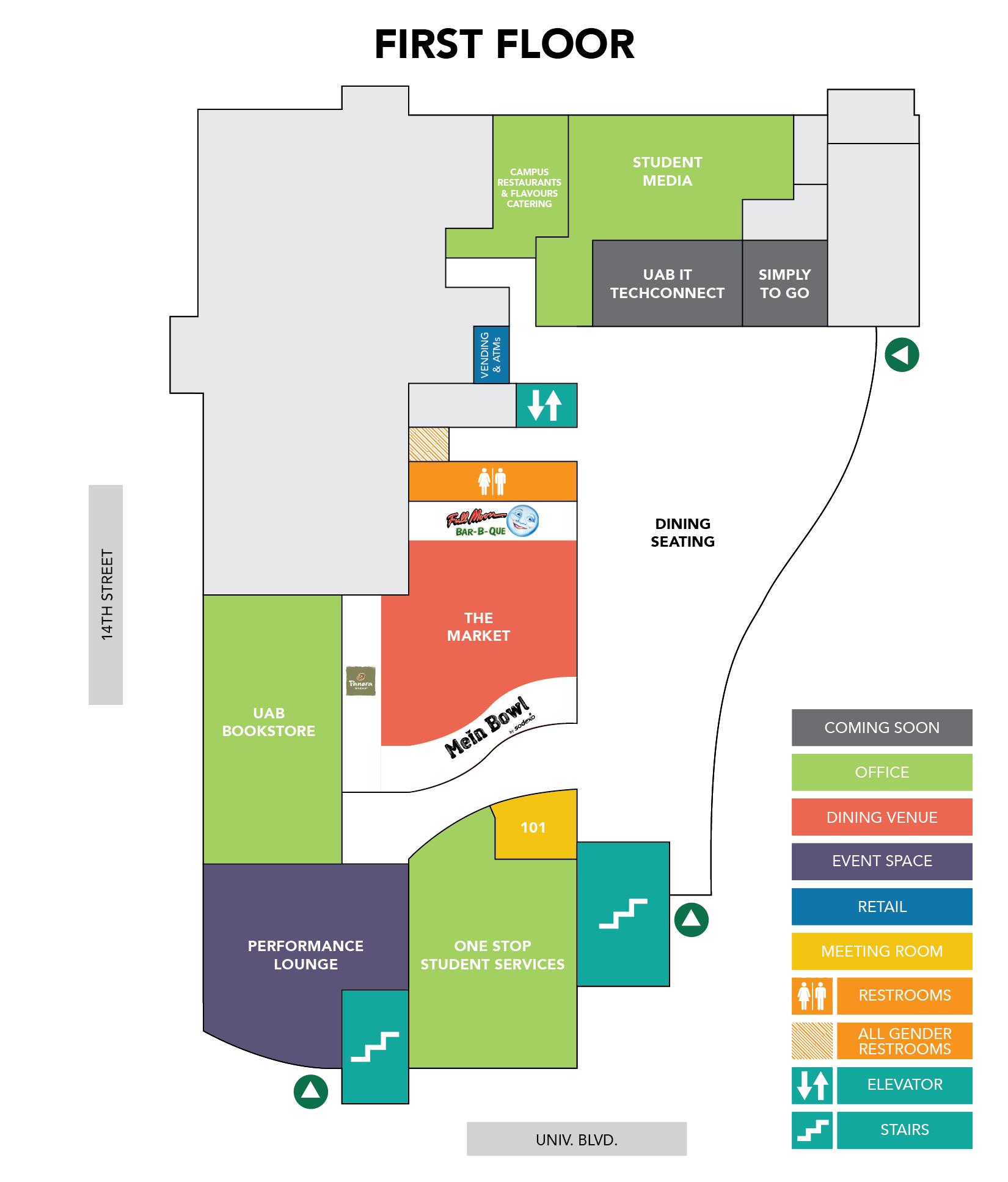 Student Center Floor Plan Thefloors Co