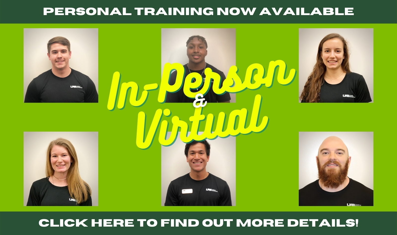 Personal Trainer Web Banner