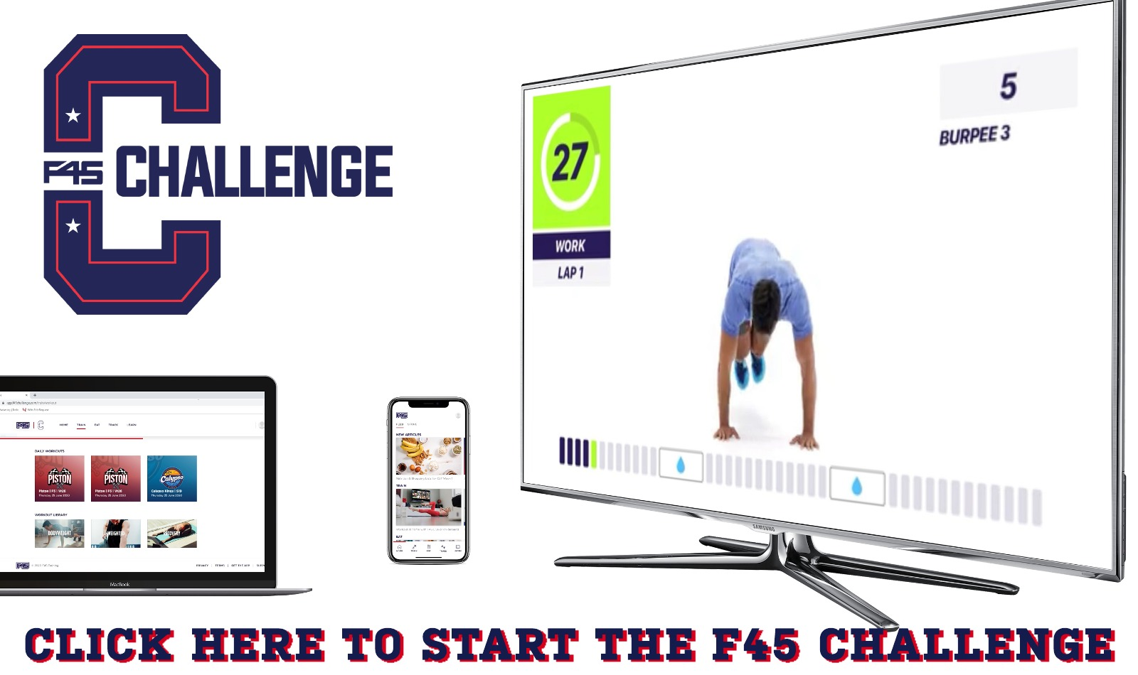 F45 On Demand FREE Webslider