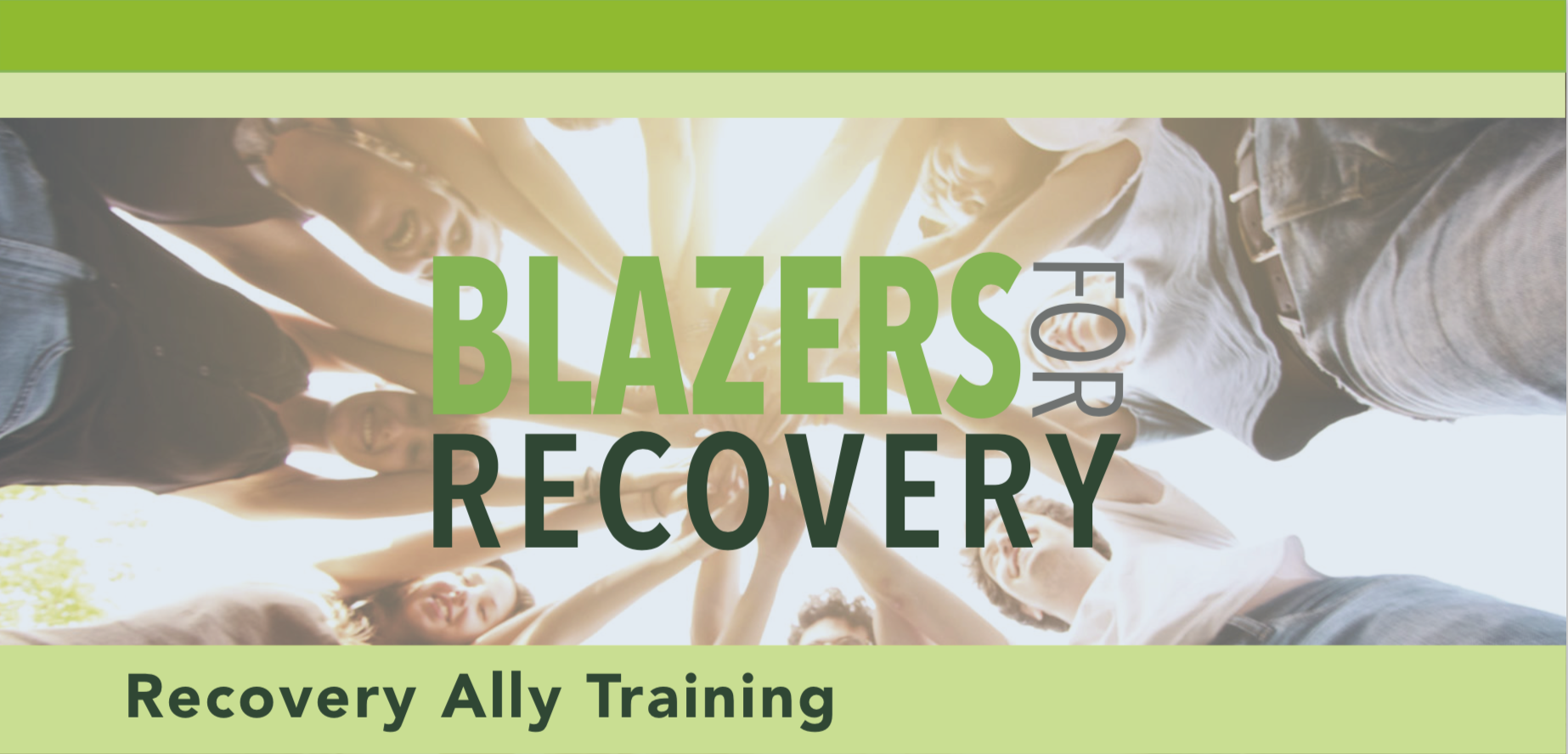 Blazers for Recovery (Recovery Ally Training)
