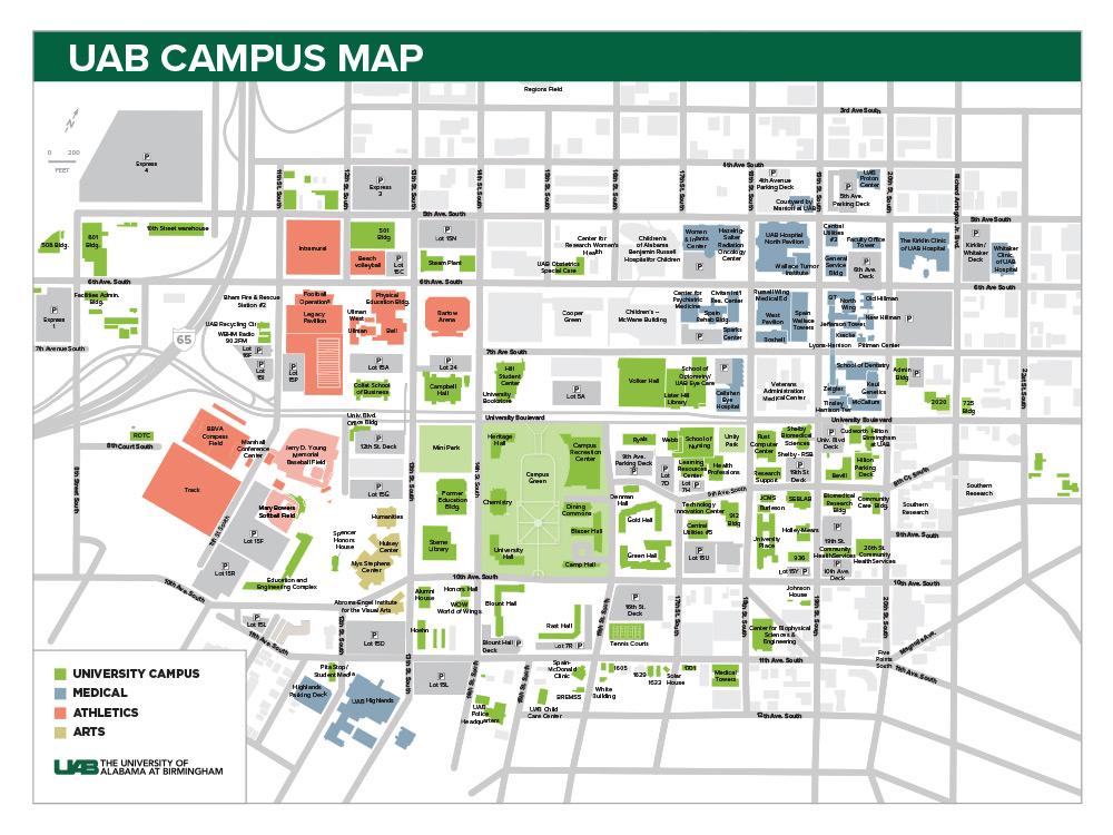 UAB - Toolkit - Printed Map