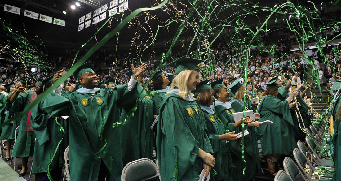 Photo from UAB commencement ceremony